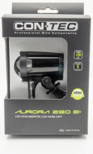 CONTEC LED SCHEINWERFER AURORA 230 FUER E-BIKE