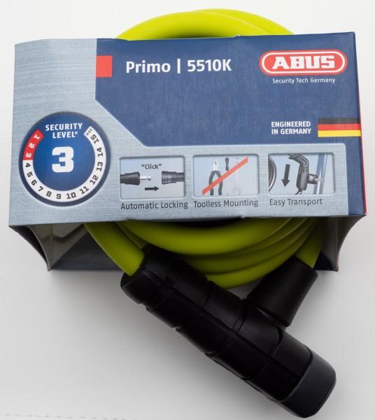 ABUS Spiralkabelschloss Primo 5510K
