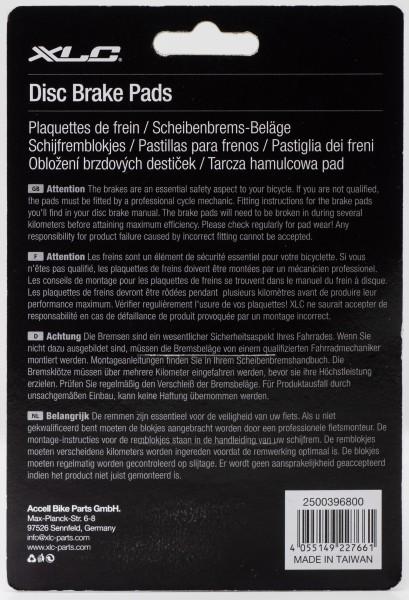 XLC Scheibenbremsbeläge BP-O42