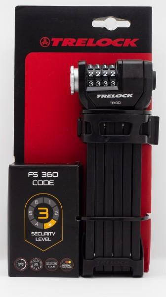 Faltschloss Trelock Code m.H.ZF234 X-M.